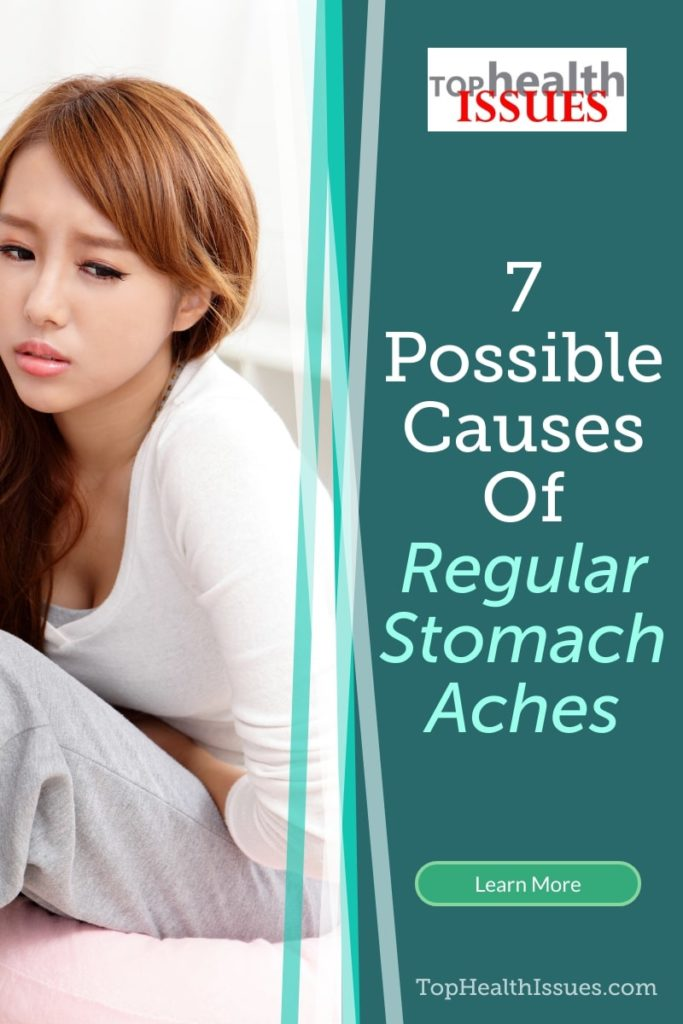 7 Possible Causes Of Regular Stomach Aches