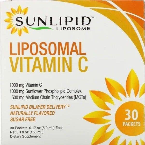 Sunlipid, Liposomal Vitamin C Pack