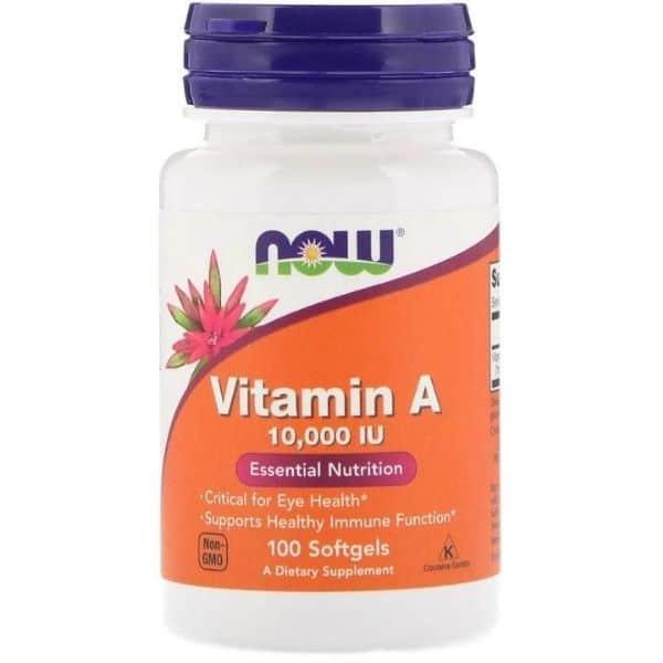 Now Foods, Vitamin A, 10,000 IU