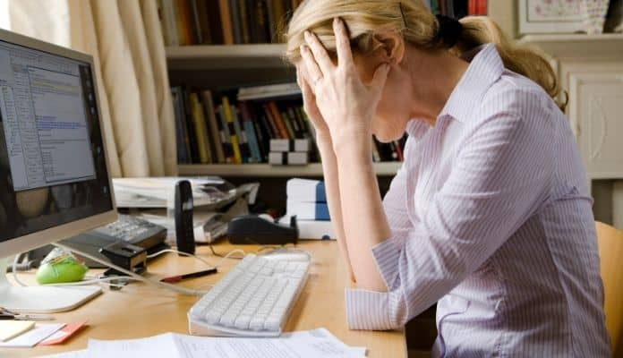 Stressed out with work may trigger emotional eating