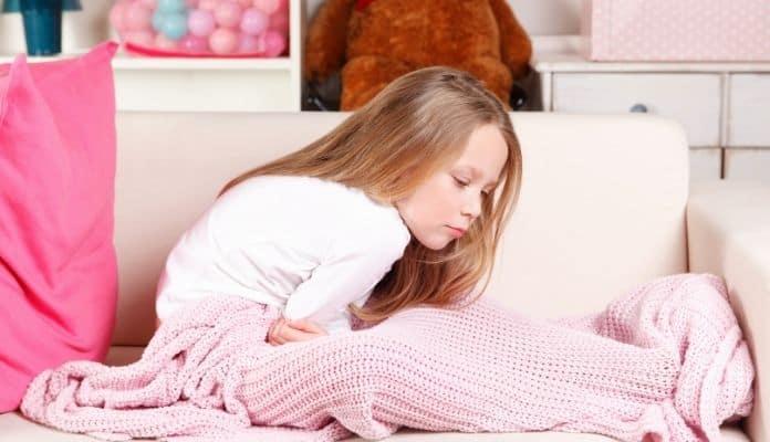 Stomachache in child